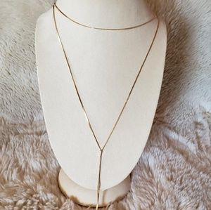 NWT  BP. Dainty gold necklace